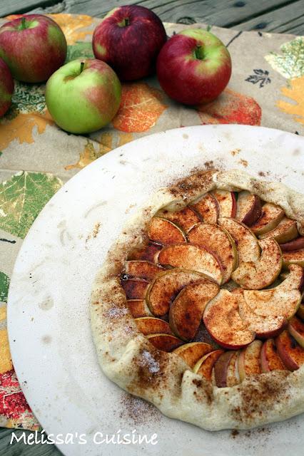 Melissa's Cuisine: Rustic Apple Galette