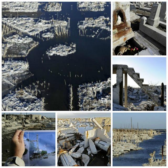 imagens da cidade submersa epecuen argentina