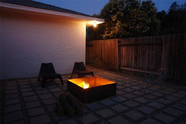 Diy una chimenea para el exterior - Poner chimenea en casa ...