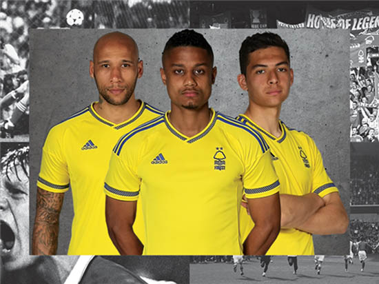 Nottingham Forest 16-17 Home and Away Kits Released - Footy Headlines