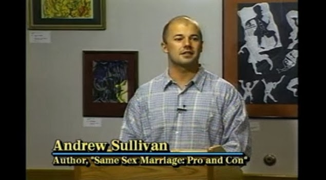 what are homosexuals for andrew sullivan thesis Andrew sullivan, one of the most prolific and frequently interesting political writers of the day, here sets the stage for a reasoned discussion of how we, as a society, should handle the reality of homosexuality and of how we should treat homosexuals though i disagree with his final conclusions, i appreciate the way in which he treats.