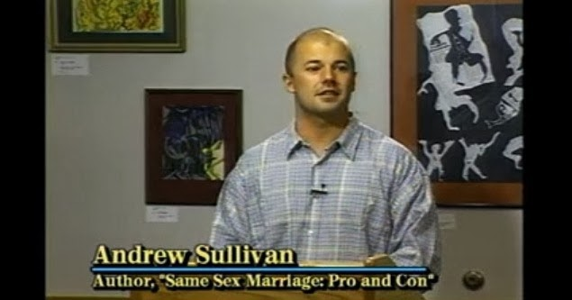 what are homosexuals for by andrew sullivan analysis Andrew sullivan (1995) where the overwhelming majority of homosexuals reject the notion that they are p 57 this at least is the liberationist analysis.