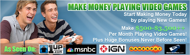 get money for playing games online