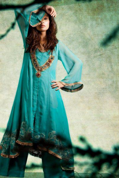 Pret A Porter by Saadia Mirza Virtues | Velocity Pret Line Winter-Eid Dresses By Saadia Mirza Virtues | Velocity Woma's wear Winte/Fall Collection 2011-2012