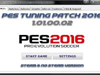 Patch Terbaru untuk PES 2016 dari PES Tuning V1.01 AIO