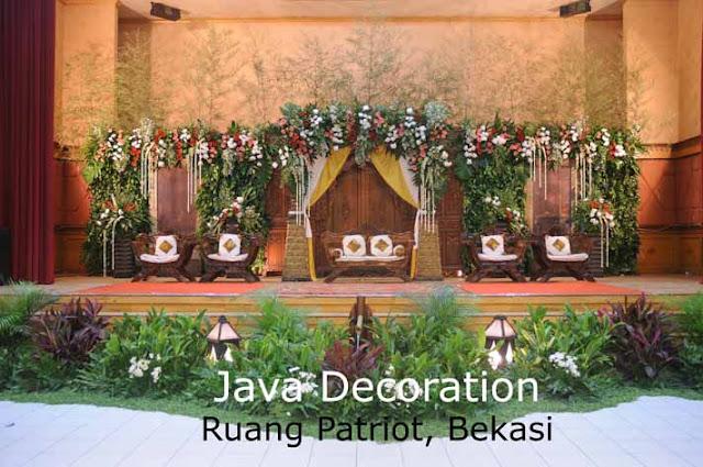 Contoh Dekorasi Pernikahan Pelaminan Minimalis Modern Tradisional Gebyok