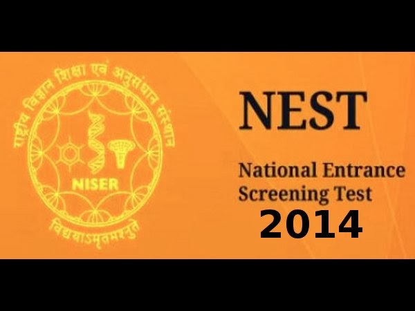 NEST 2014 Application Form/Exam Date 2014