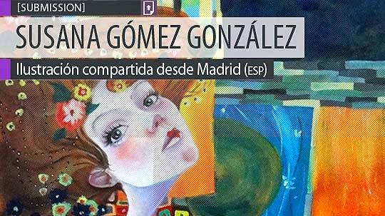 Ilustración. Bailarina de SUSANA GÓMEZ GONZÁLEZ