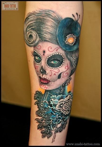 tattooz design sugar skull tattoo