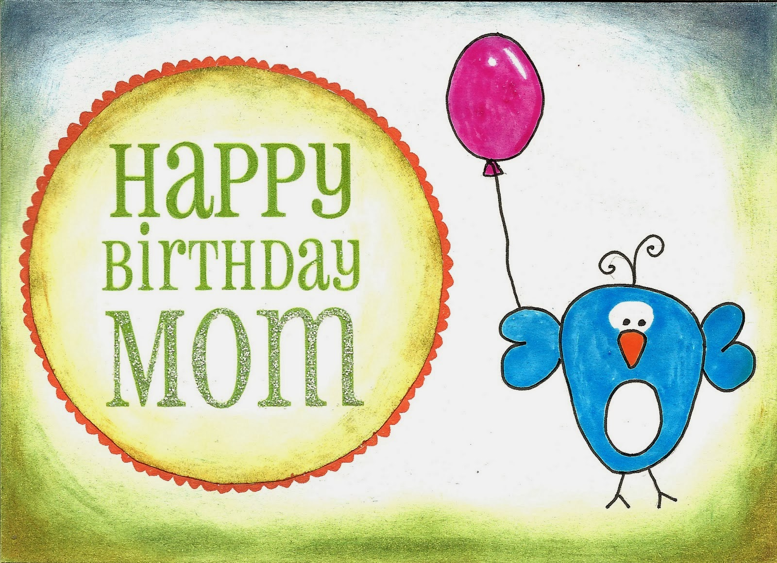 ImagesList.com: Happy Birthday Mom, part 3 I Love You Hearts Coloring ...