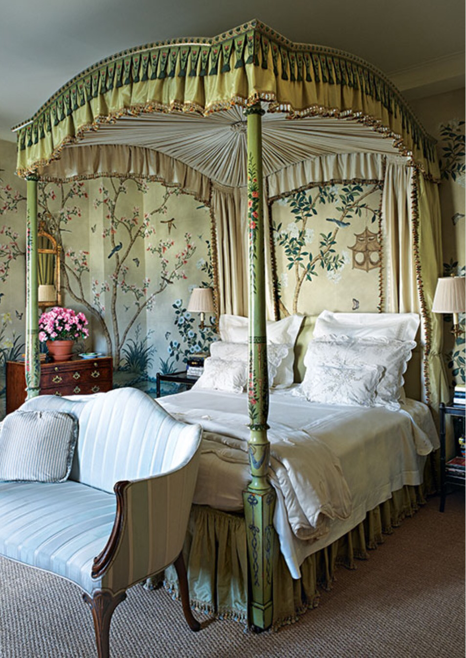 chinoiserie chic the chinoiserie bedroom