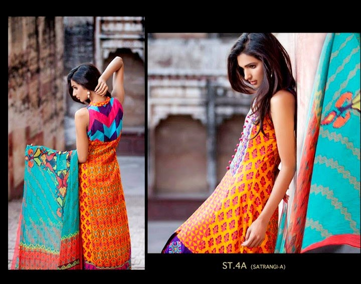 Zainab Chottani Eid Collection 2014 by Shariq