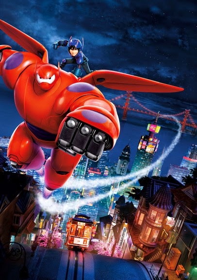 Big Hero 6 (2014) 1080p BRRip x264 AAC-Pluto