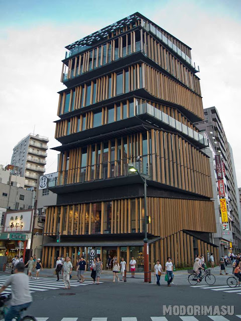 Architekt Kengo Kuma, Asakusa, Tokyo
