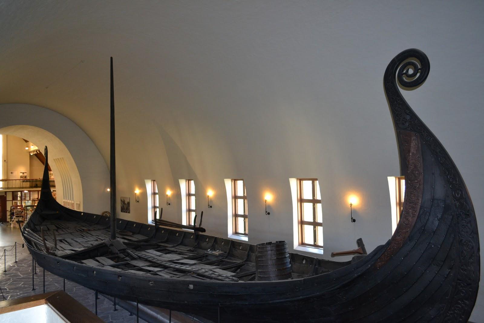 Viking ships of 9th century