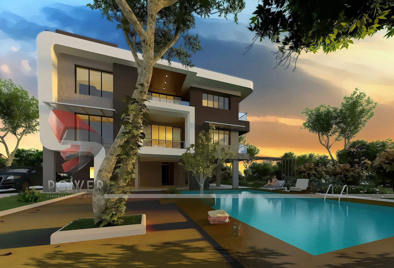 Ultra modern home designs home designs architectural for Super modern house