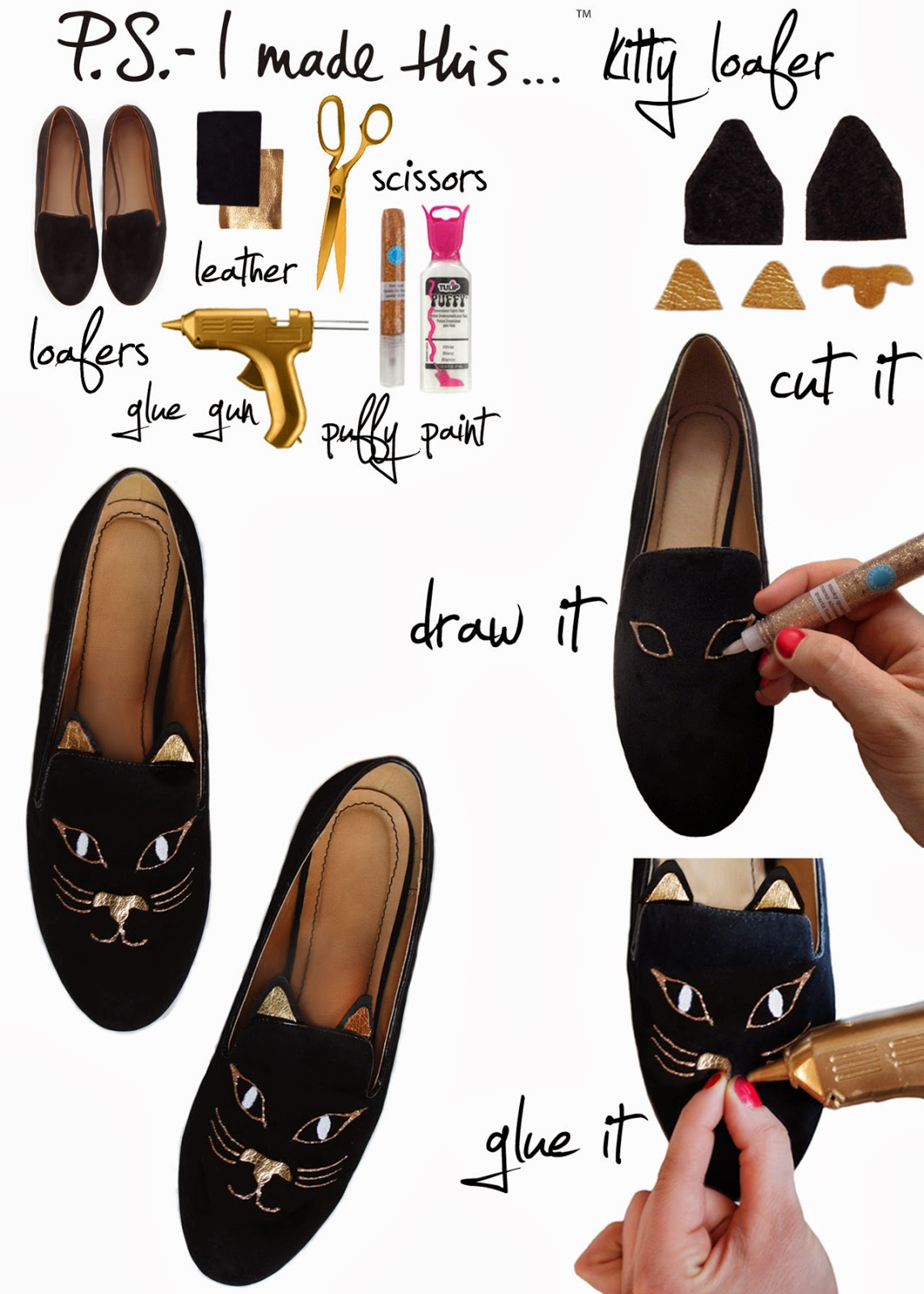 ideas diy zapatos