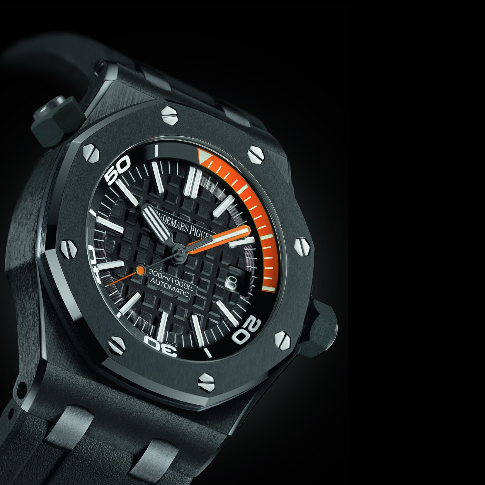 Oceanictime audemars piguet royal oak offshore diver ceramic 2ndlook for Royal oak offshore ceramic