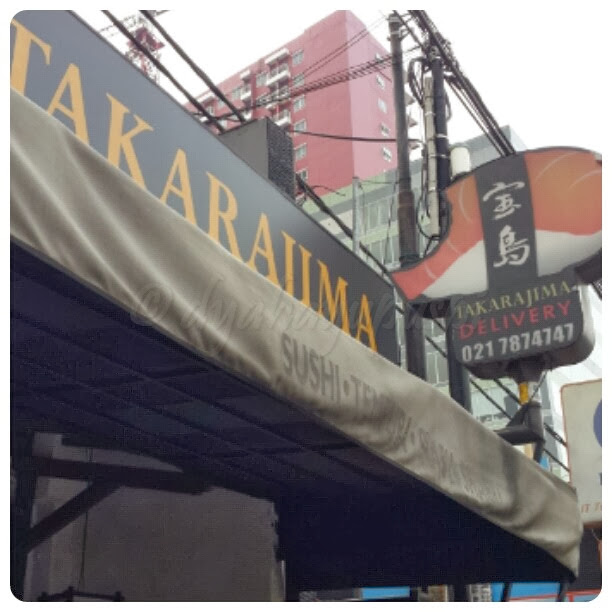takarajima resto. takarajima restaurant. takarajima depok. takarajima sushi. takarajima margonda