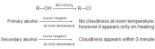 lucas reagent Lucas reagent is a solution of anhydrous zinc chloride (lewis acid) in  concentrated hydrochloric acid it is used as a reagent to test alcohols and  classify them in.