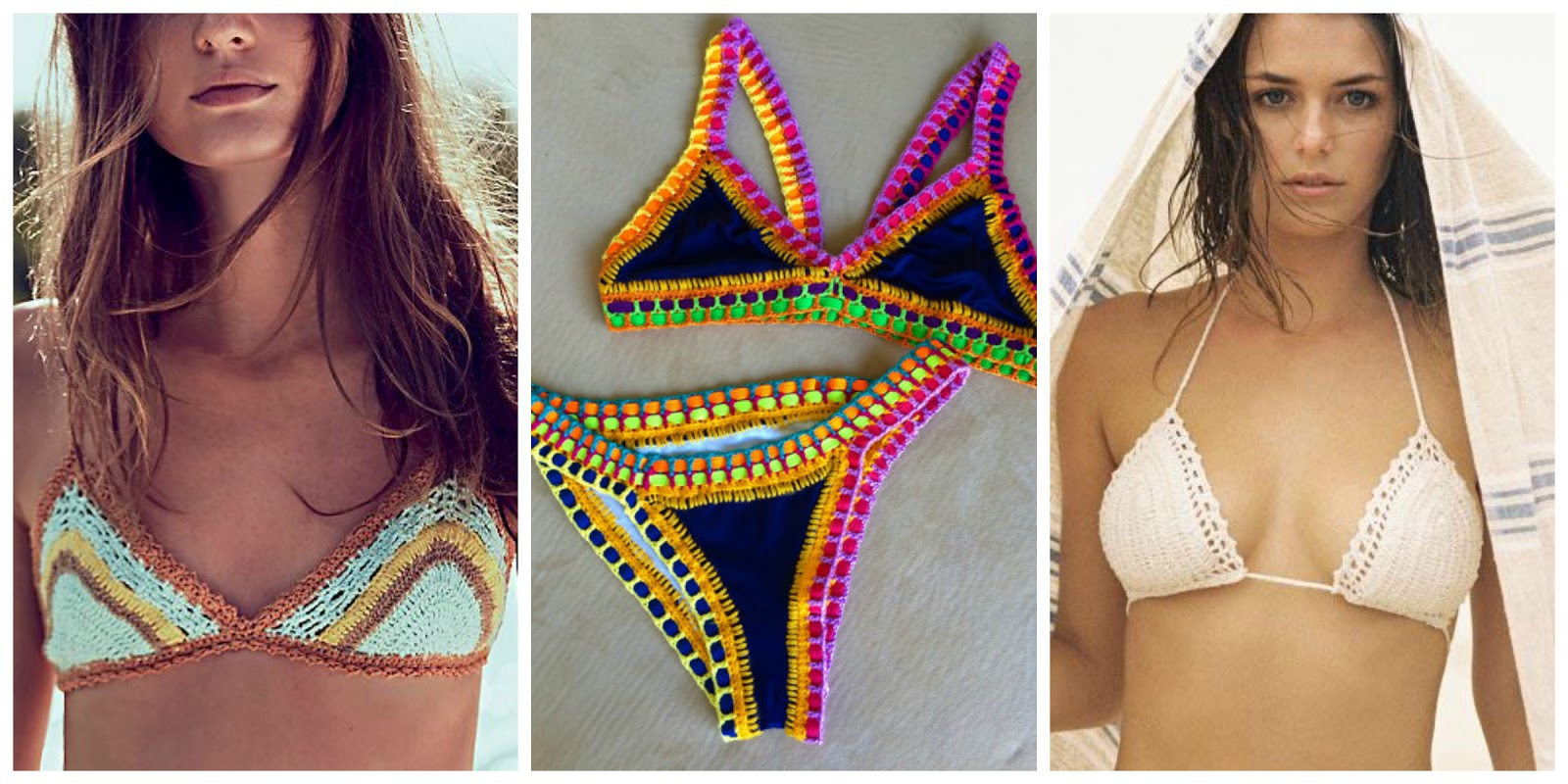 bikinis a crochet
