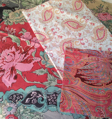 paisley and floral fabrics