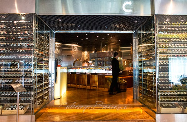 Wine Cellar at C's Steak & Seafood's Entrance, Grand Hyatt Jakarta