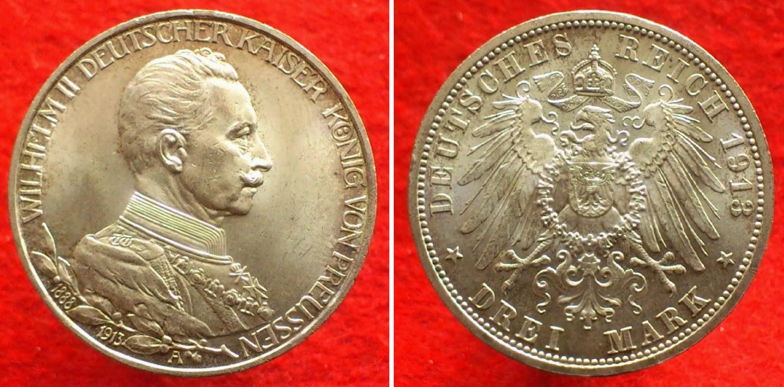 Monedas de colección : Monedas del Reino de Prusia (Borussorum moneta)