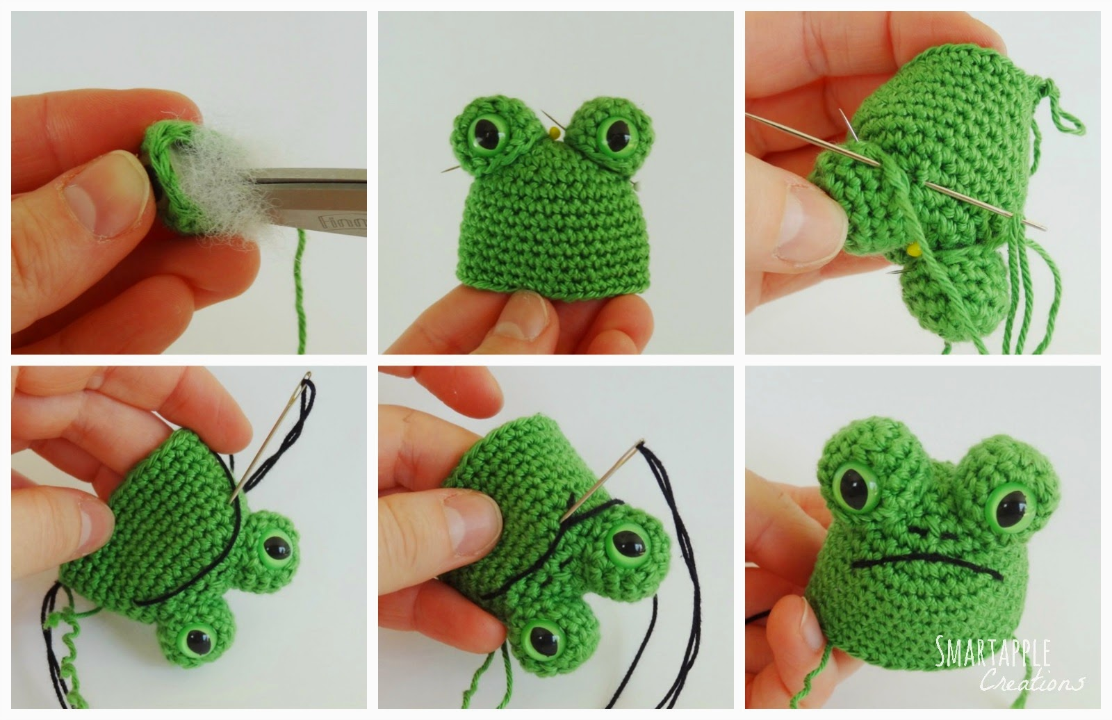 Eyes For Amigurumi : Smartapple creations amigurumi and crochet: free pattern fred