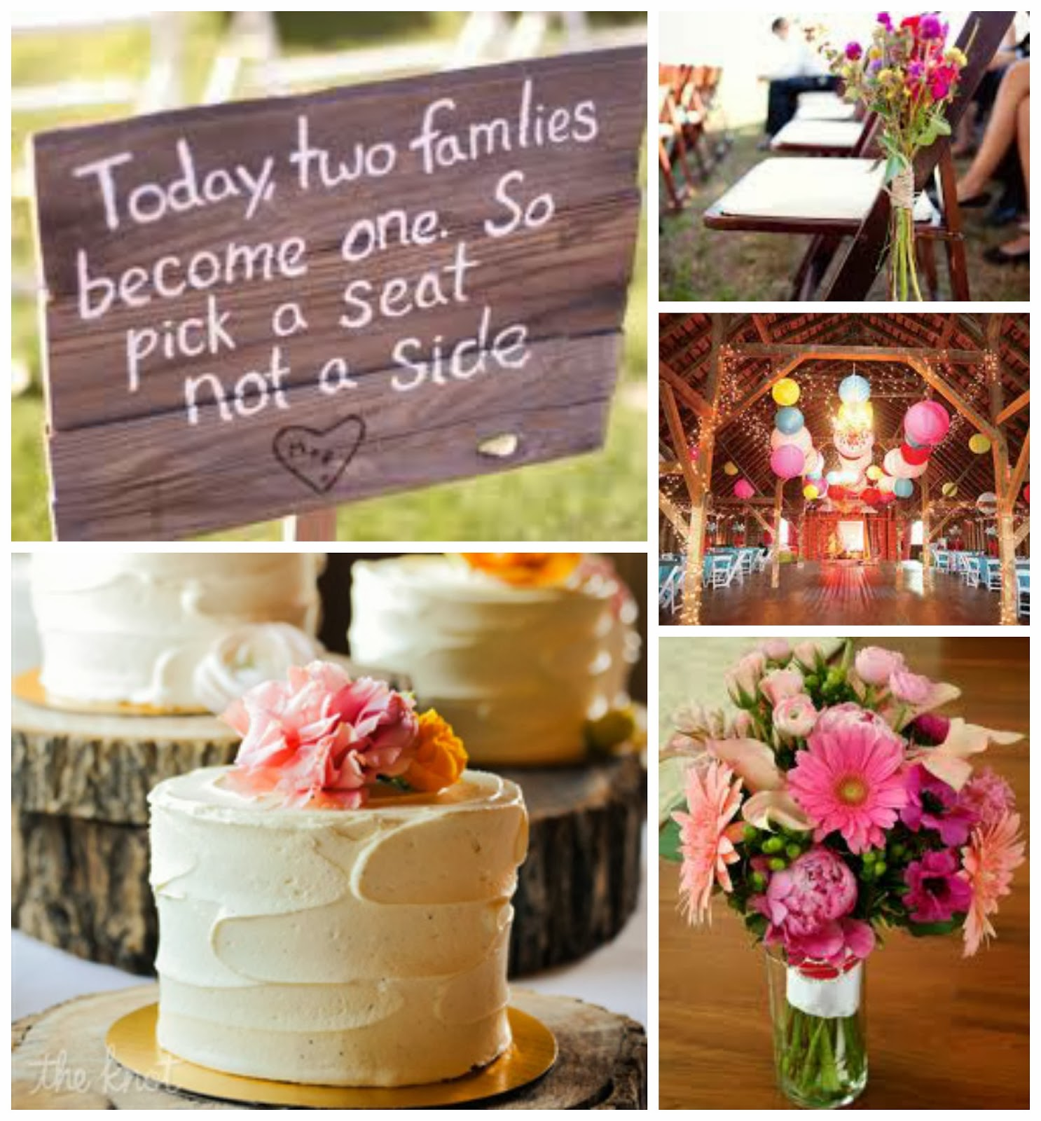 Rustic Pink Wedding Ideas