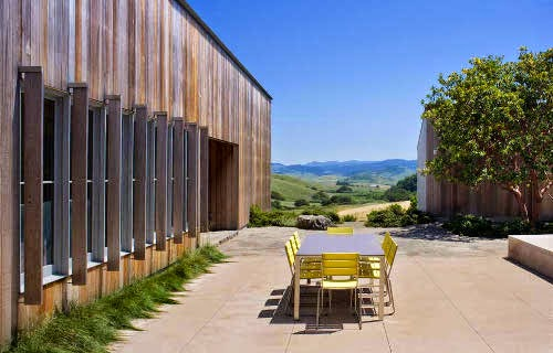 West Marin Ranch by Turnbull Griffin Haesloop Architects