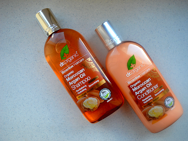 Dr. Organic - Moroccan Argan Oil shampoo & conditioner