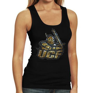 UCF Knights NCAA Rhinestone Tank Top