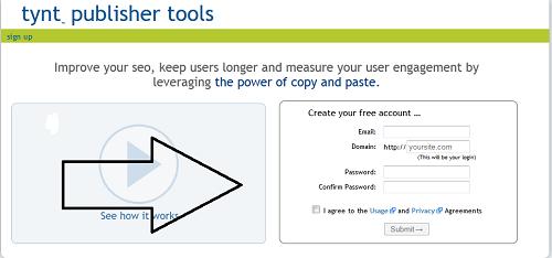 Antispasi Copas dengan Tynt Publisher Tools-GigaWatt