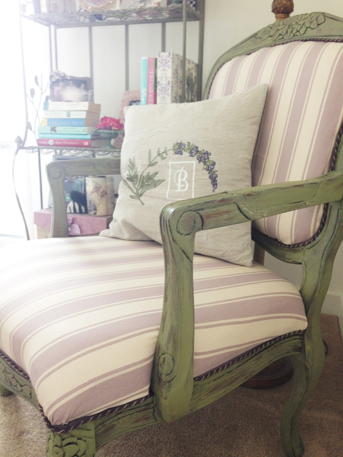 Celeste and Pearl I   A Lifestyle Blog: d. i. y. French Louis Chair