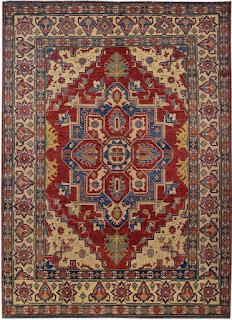 Tappeto orientale è un drappo di tessuto di lana, seta o cotone di diverse dimensioni e con svariati disegni, annodato a mano oppure a macchina, che si utilizza in un ambiente a fini decorativi posizionandolo sul pavimento.