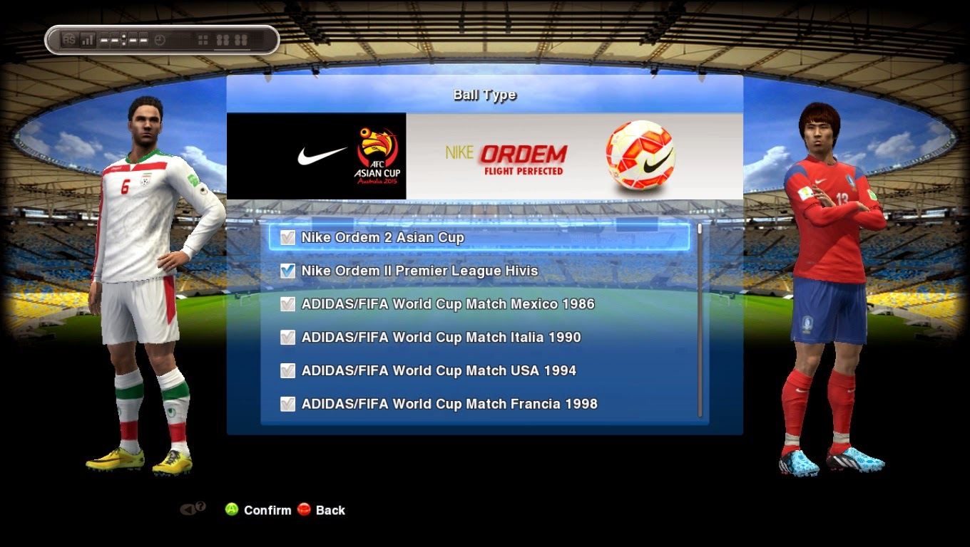 PES 2013 Nike Ordem II AFC Asian Cup 2015 Australia by Tanapon