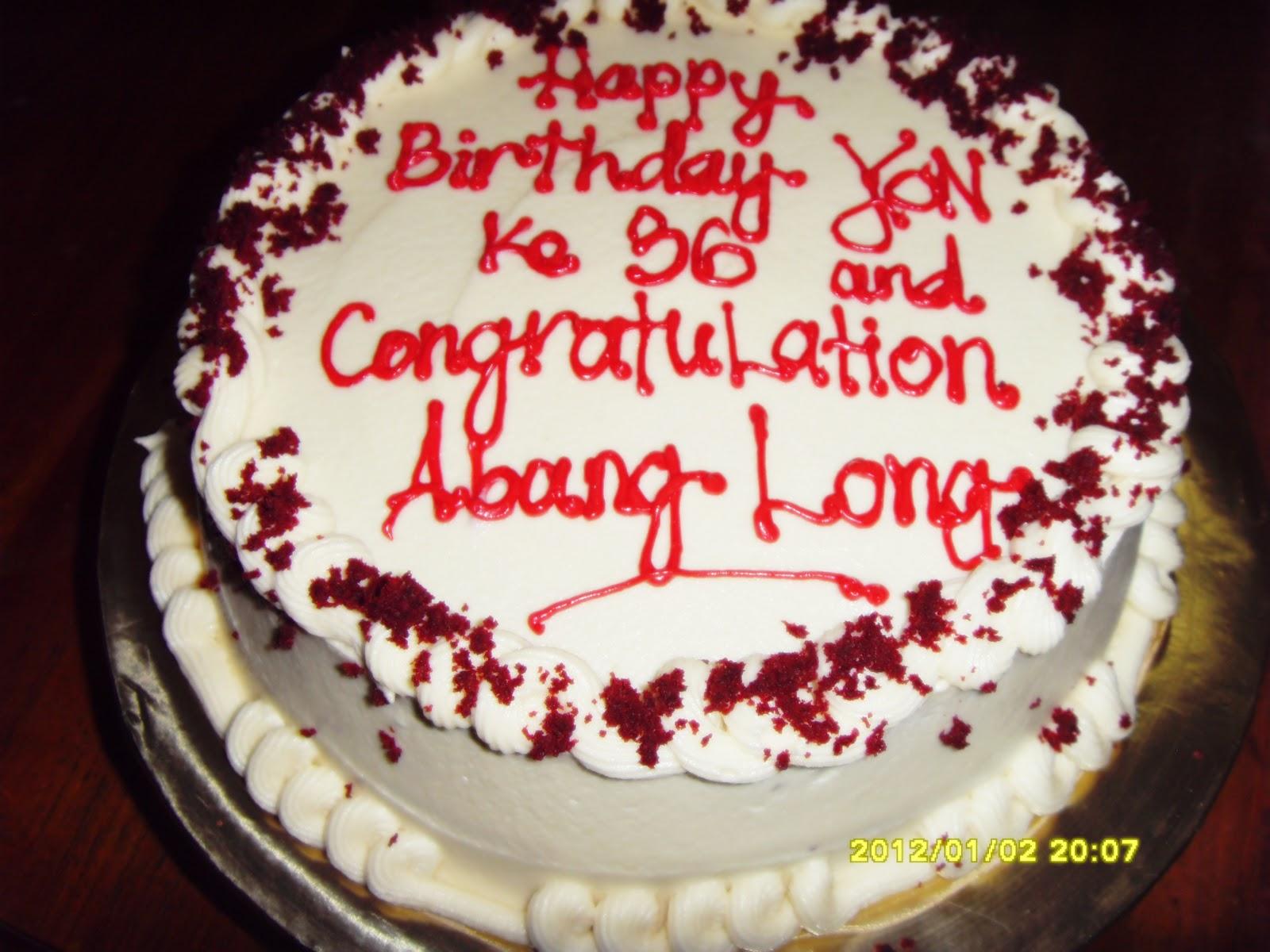 sweet rania cake: RED VELVET BIRTHDAY CAKE