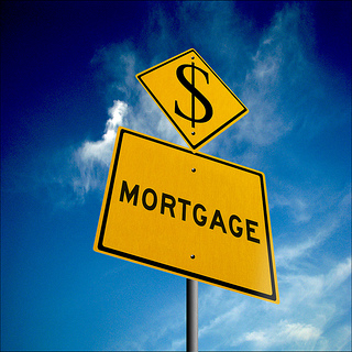 mortgage road signs