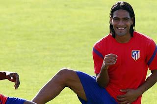 Falcao se prepara para debutar con el Atlético