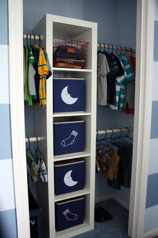 IHeart Organizing: Boy's Bedroom Closet Update: Don't Leave Us Hangin'