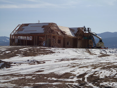 Structural Insulated Panels SIPs by RAY-CORE - Simons Home with a View!