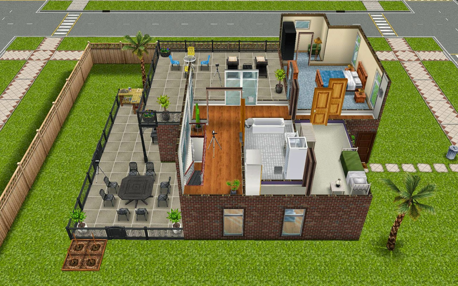 Sims freeplay housing diy home quest - Sims freeplay designer home ...