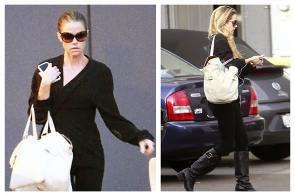 Wearing all Black Makes Denise Richards Look Mysterious