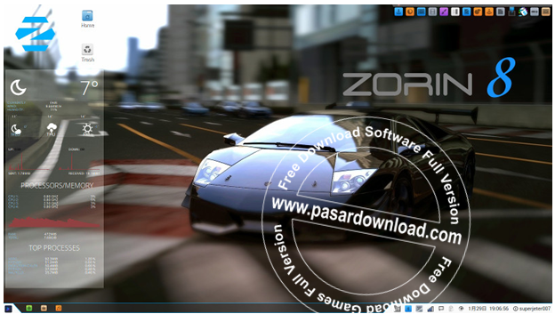 Free Download Zorin OS 8.1 Core Build From Linux