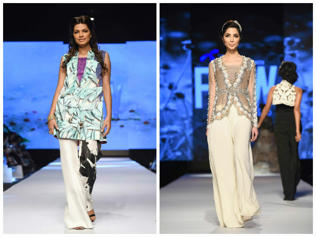 sania maskatiya nida azwer white flared pants