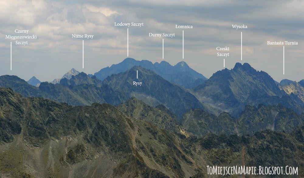 Panorama z Krywnania, Widok z Krywania, Krywań Słowackie Tatry