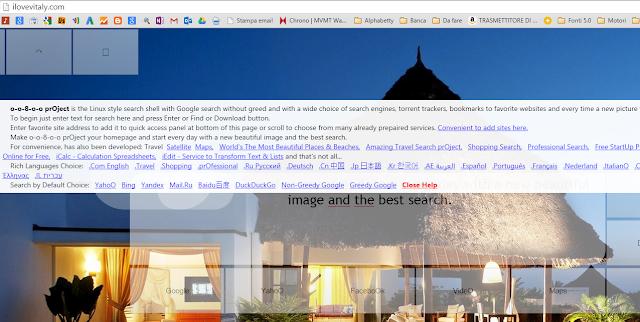 Come rimuovere ilovevitaly.com da pagina iniziale Google Chrome, Mozilla Firefox e Internet Explorer