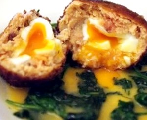 Scotch Egg au Saumon Fumé
