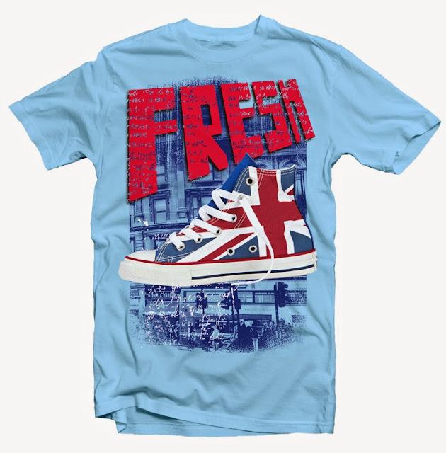 converse shoe tshirt design